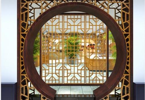 中国风17年凡路设计师珠宝展柜设计定做案例