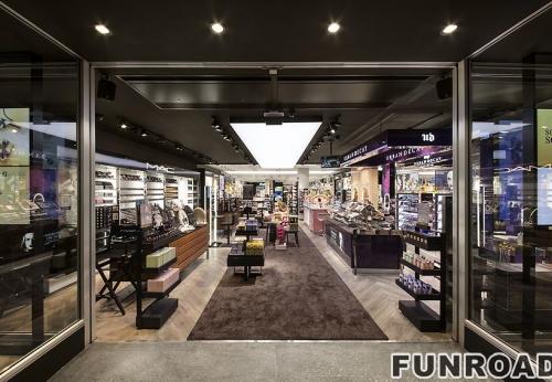化妆品展柜批发,化妆品柜台订制设计制作