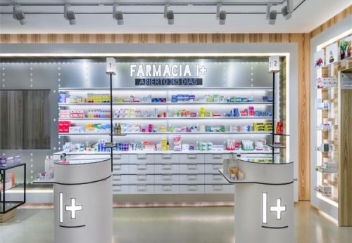 定做超市商场化妆品店产品展示柜展示架