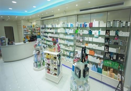 室内设计药房商店陈列现代零售商店