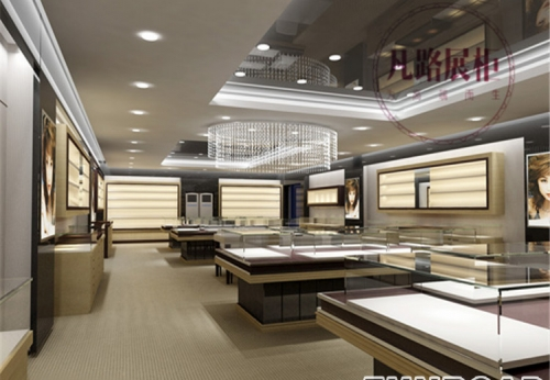 深圳展柜厂十五年经验,专业定制珠宝展示柜