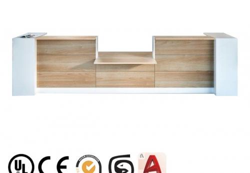 检查药店木制家具店现代办公前台酒店前台收银首饰显示柜台设计