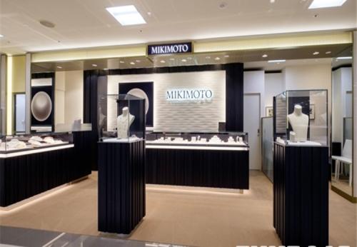 热卖模型珠宝商店陈列装置豪华珠宝展示创意