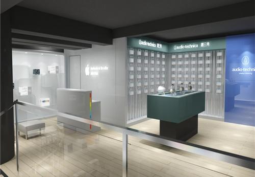 木制展柜手机配件店设计展示柜
