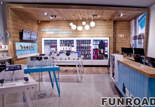 定制零售移动电话商店家具设计用于手机店装饰