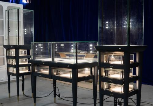 2018年为珠宝商店设计的高端定制,柜台定制