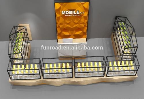 2018年创意手机配件展柜亭设计,funroad制作