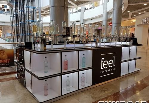 展柜厂家专业设计工厂零售时尚商场香水亭