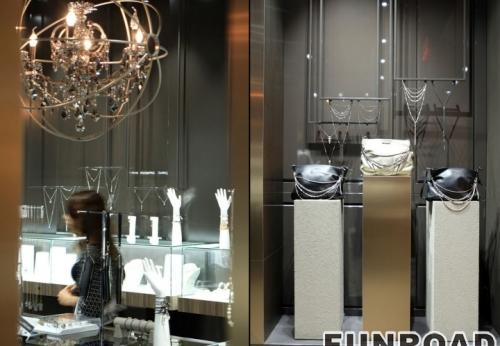典雅高贵风格展柜-珠宝展柜