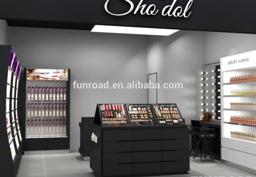 高品质化妆岛展示化妆品店展示柜