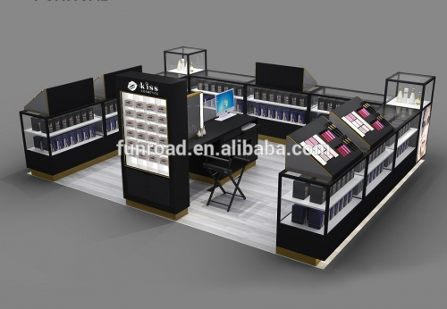 购物中心化妆品展柜化妆亭