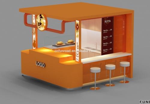 饮料和冰淇淋店展示免费设计