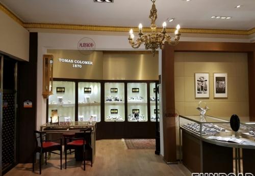 最新手表奢侈品展示柜效果图