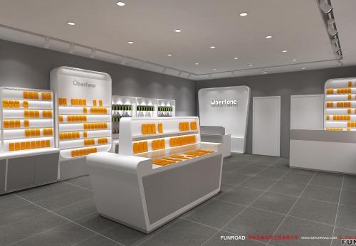 展柜厂家定制,手机展示柜价格