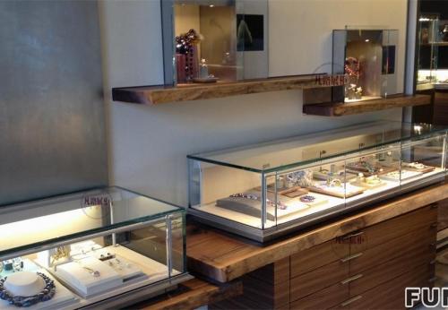 珠宝首饰店展柜壁柜案例
