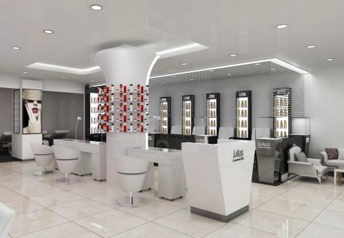 Luxury Hair Dressing Salon Furniture Salon Chair Hair Salon