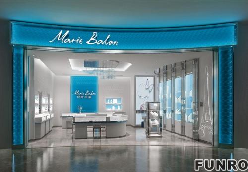 现代风格高档珠宝玻璃展示柜