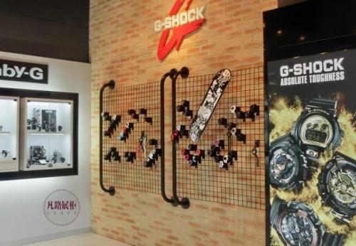 欧洲电子手表店展示柜案例