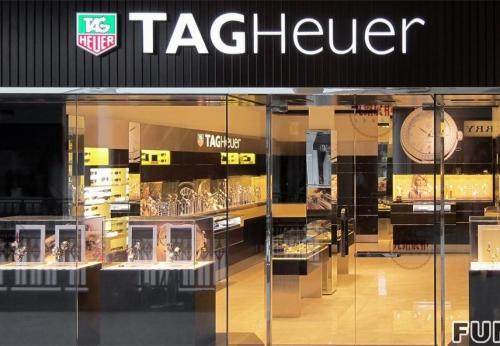 欧洲手表店展示柜案例效果图