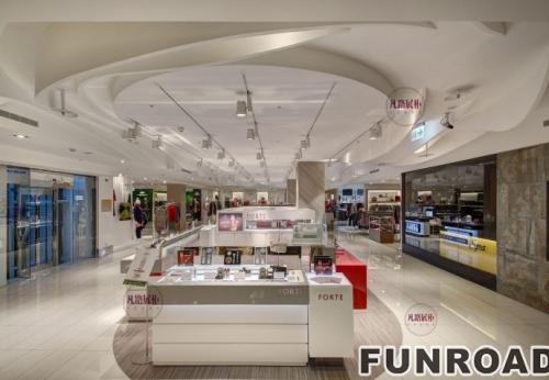 大型商场购物中心展示柜案例效果图