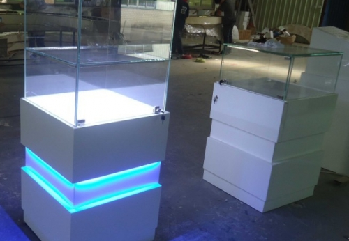 定制商场手表玻璃展台展示制造商珠宝展柜待售