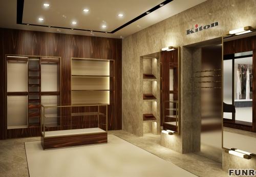 丰路制造木制展示柜产品,展示货架供店铺使用