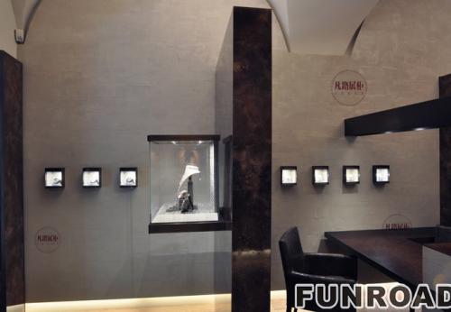 意大利珠宝店展示柜案例效果图