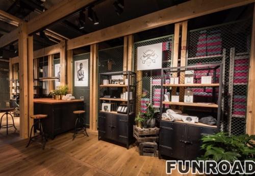 化妆品品牌形象店展示柜设计案例