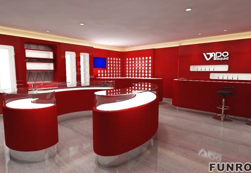 巴黎香水品牌Liquides整店展示柜案例