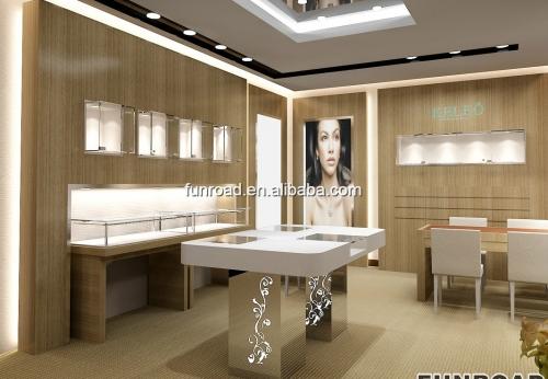凡路展柜厂珠宝陈列室家具设计