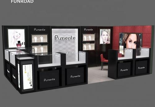 定制设计零售珠宝商场展示亭