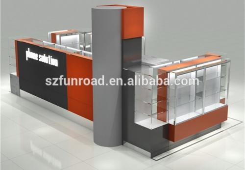 商场专柜手机展展示柜自由组合设计效果图
