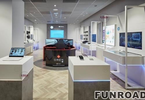 电子产品店展示柜案例效果图