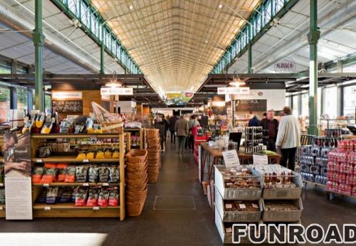 大型生活用品超市展示柜案例