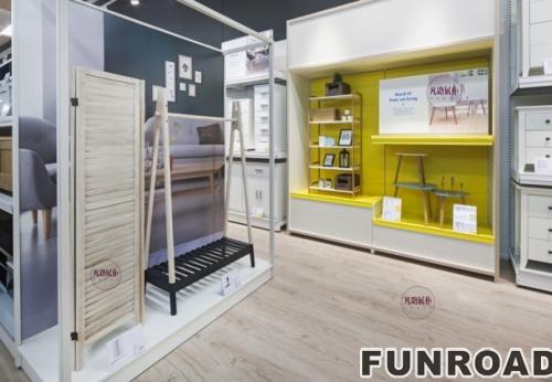生活常用品商城展示柜案例