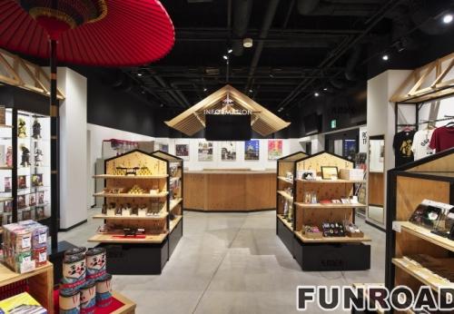 日本特产店展示柜案例