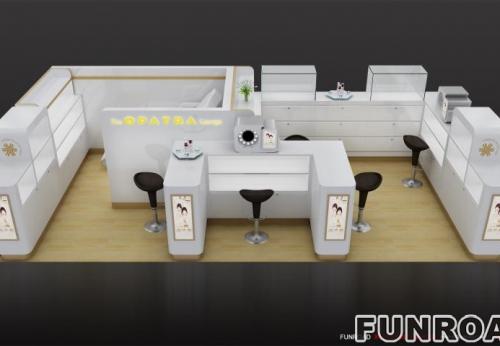 中国供应优质化妆品店化妆品展示柜展台展示柜