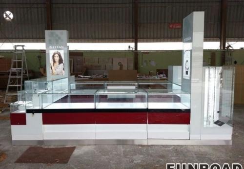 凡路展柜厂手表展示亭手表展示柜MDF柜台