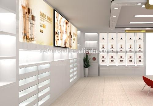 专业设计化妆品展示柜豪华家具制造