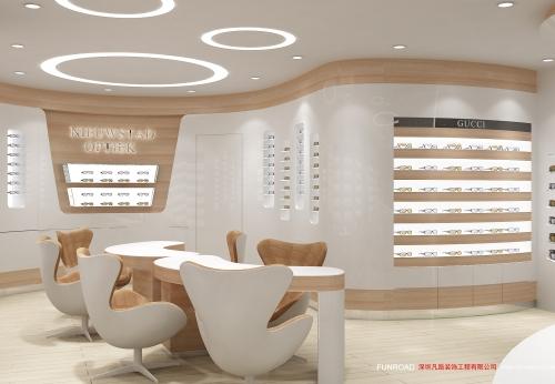 零售店夹具现代光学店柜台设计与光学室内设计