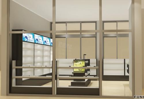 时尚木制化妆品展示/化妆品商店家具