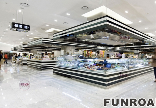 FRSM-0001大型商场展示柜案例