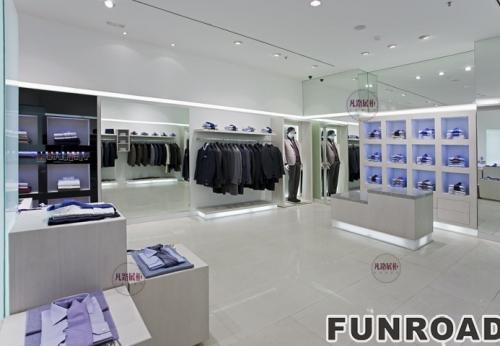 FRCD-94131男士西装展柜案例