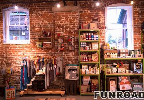 FRCD-94171童装店展柜儿童用品店案例