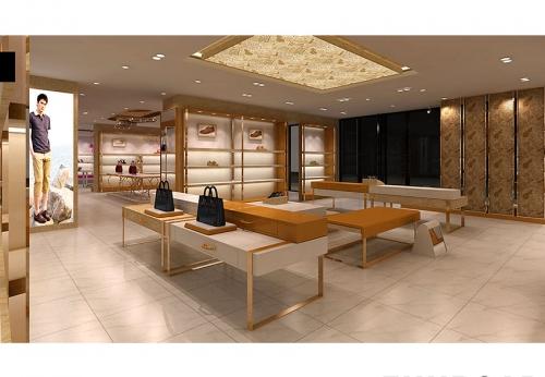 美容陈列柜零售店室内设计服装鞋陈列柜出售