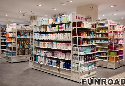 FRCS-195091生活日用化妆品店展示柜案例