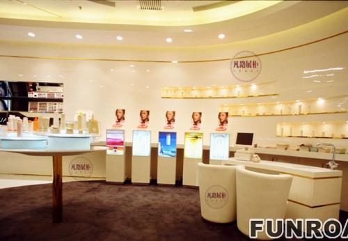 化妆品展示柜设计说明