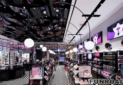 大型化妆品店专柜制作案例