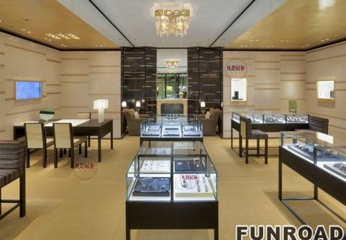 珠宝店柜台设计制作案例