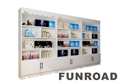 欧式简约风格化妆品展示柜